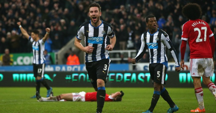 Newcastle gets late equalizer against Man
